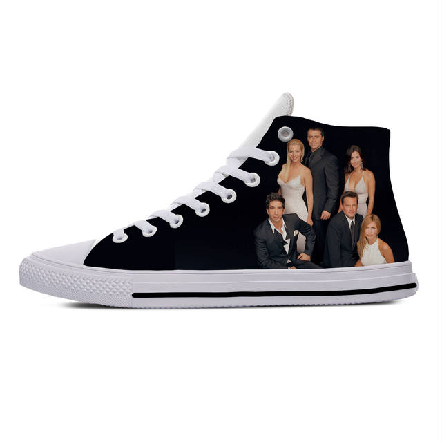 FRIENDS THEMED HIGH TOP SHOES (5 VARIAN)