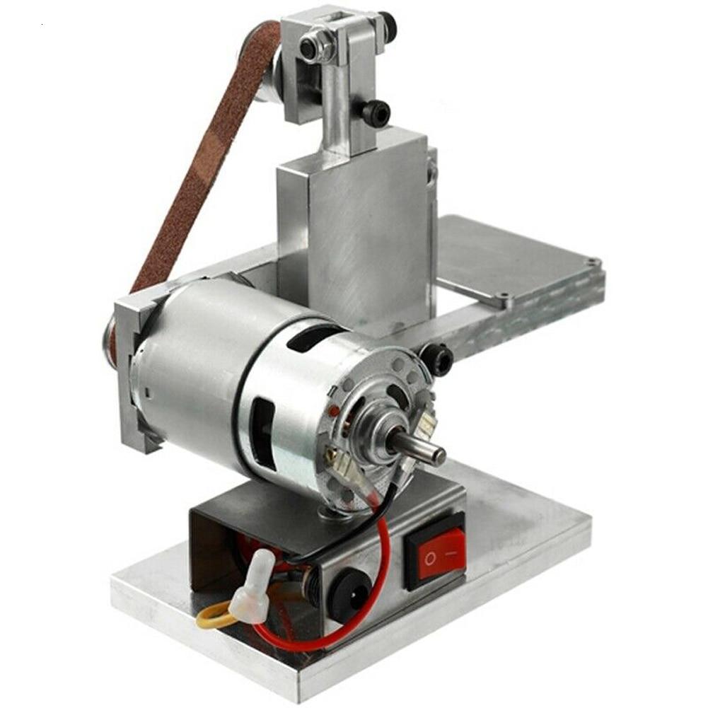 1PC Small Mini Belt Machine DIY Polishing Machine Grinding Machine Fixed Angle Sharpening Machine Blade Machine Belt Machine B4