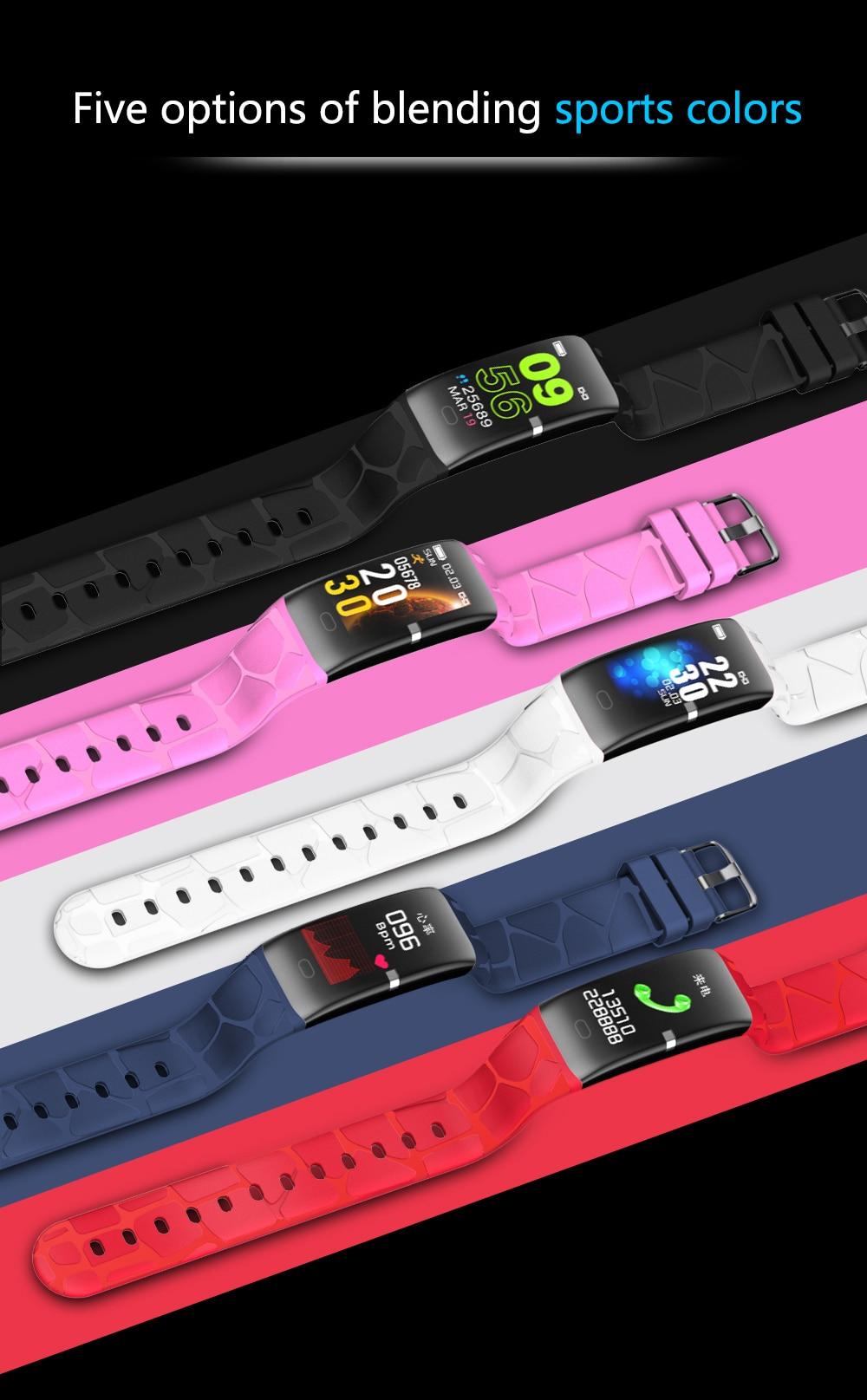 fitnesstracker smartwatch para android ios monitor de