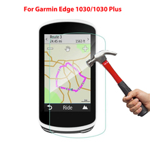 2Pack For Garmin Edge 1030 PLUS 0.3mm 2.5D 9H Tempered Glass Screen Protector Ultra-thin Anti-Scratch Clear Scratch Film 1030