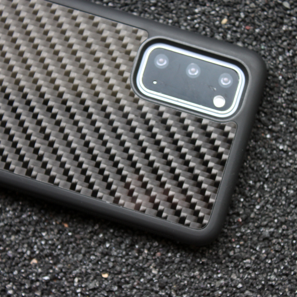 Real Carbon Fiber Case for Samsung Galaxy S20 Plus Mobile Phone Cover Business Luxurious TPU Silicone for Samsung S20 Ultra