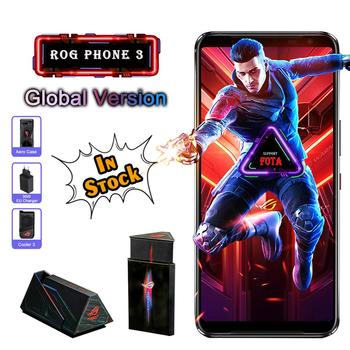Перейти на Алиэкспресс и купить Глобальная версия ASUS ROG Phone 3 ZS661KS 5G Смартфон Snapdragon 865/865Plus 6000 мАч NFC Android Q 144 Гц игровой телефон ROG3
