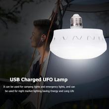 Energy Save LED UFO Globe Lamp Super Bright Home Bar Hall E27 16W Ceiling Light Beautiful and Delicate Appearance-UFO Shape
