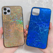 Glitter Colorful line Shining Phone Case for Samsung galaxy S10 Plue case Cover for Samsung A50 Note 10 Pro S9 Plus s10e case(China)