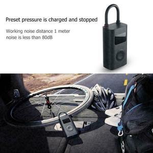 Image 3 - מקורי xiaomi Mijia Inflator נייד חכם דיגיטלי צמיג לחץ חיישן חשמלי אופנוע אופנוע מכונית כדורגל