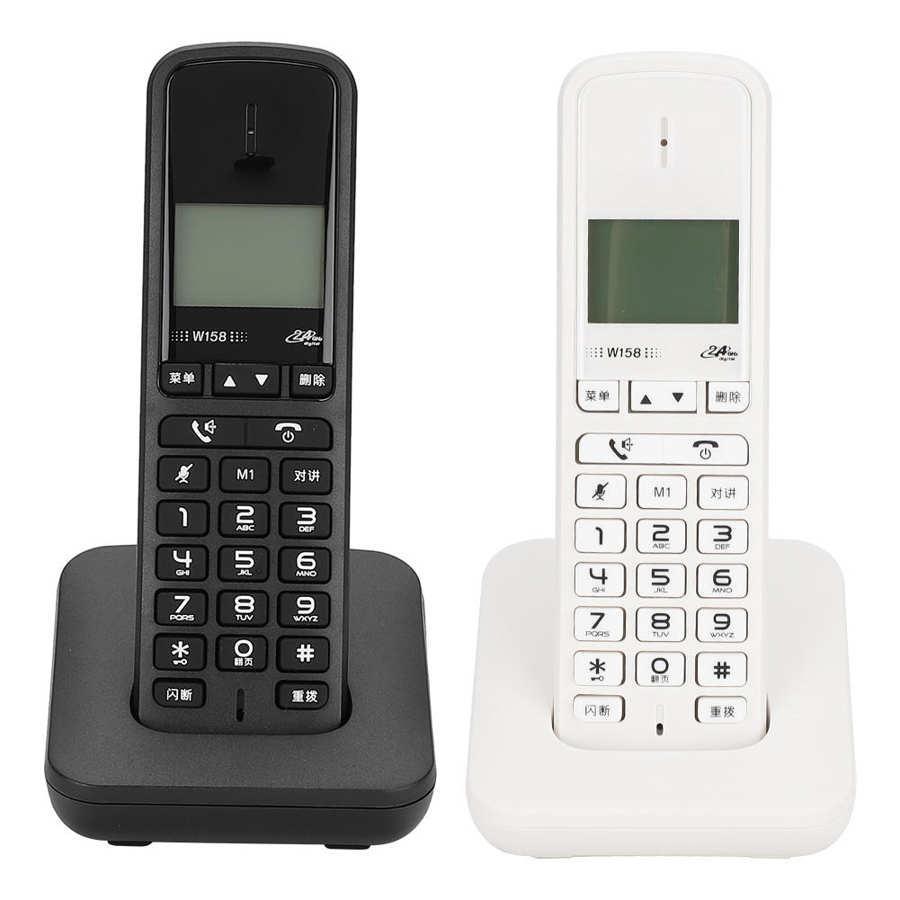 W158 цифровой беспроводной ручной Бесплатный Интерком громкой связи, телефонная связь 100-240 В, американская вилка, телефонный беспроводной те...