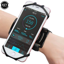 Sports Armband Case for iPhone X 8 7 Universal Rotatable Wrist Running Sport Arm Band With Key Holder for 4-6 inch Phone rotatable running bag phone arm case waterproof armband sport wrist bag belt key holder pouch for samsung iphone 8 x 4 6 inch