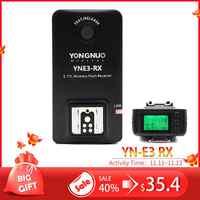 YONGNUO YN-E3-RX YNE3 RX e-TTL Wireless Flash Receiver für YN568EX II, YN565EX II YN600EX-RT, für Canon 580EX II 600EX-RT, YNE3-RX