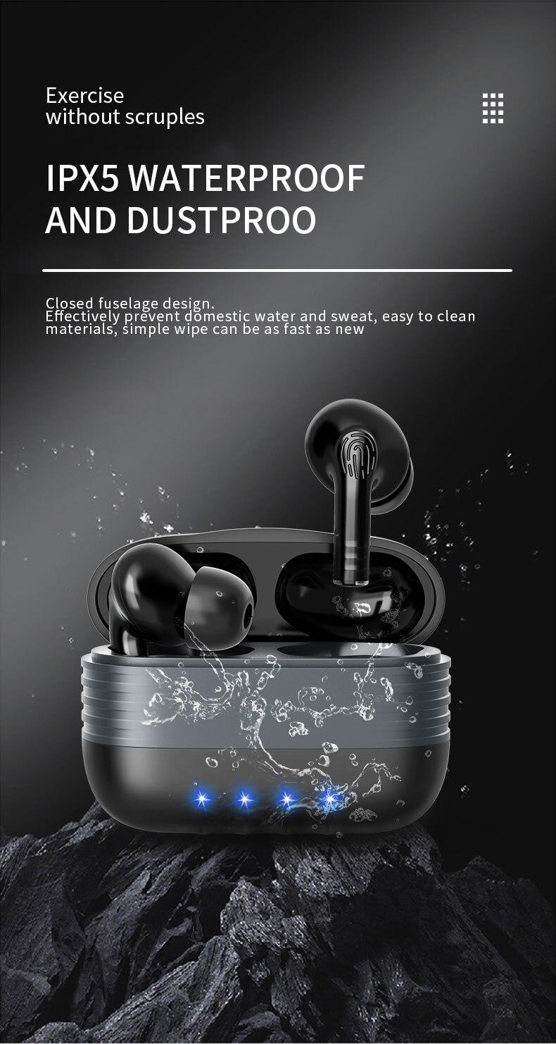 controle voz bluetooth 5.0 redução ruído controle