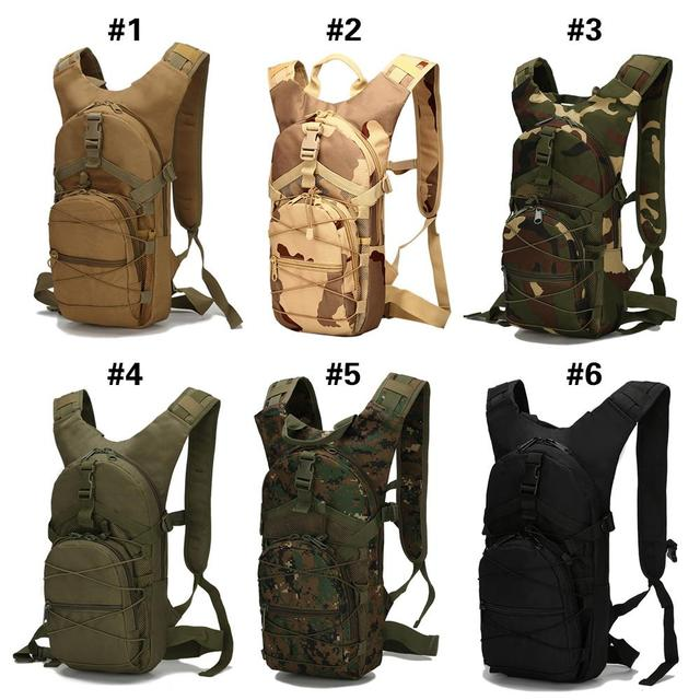 Durable Hunting Military Accessorie Backpack Military Backpack Cycling Bag Field Survival Outdoors 15L 6