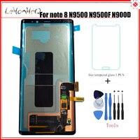 Новый оригинальный ЖК дисплей для samsung Galaxy Note 8 N9500 N9500F ЖК дисплей с сенсорным экраном дигитайзер сборка для samsung Note8 n900U lcd