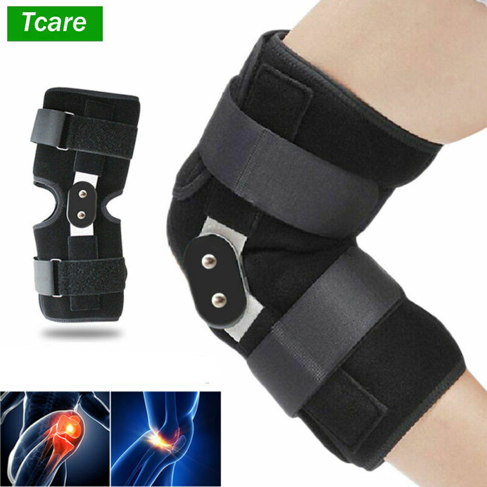 1Pcs Knee Brace Support Sleeve For Arthritis ACL Basketball Meniscus Tear Athletic Open Patella Protector Wrap Relieves Pain