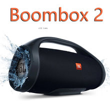 Boombox 2 Boom Box Portable Wireless Bluetooth Speaker Outdoor Subwoofer IPX7 Waterproof Charge 4 3 Flip 5 4 Party box300