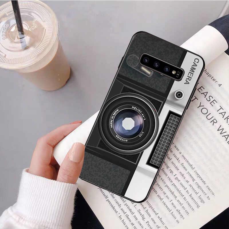 NBDRUICAI Kamera Kaset Game Konsol untuk Samsung S9 Plus S5 S6 Edge Plus S7 Edge S8 plus S10 E S10 Plus