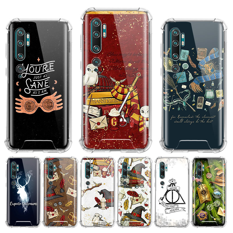 Always Hogwarts Comics Case For Xiaomi Mi Note 10 Pro 5G 9T A3 A2 8 Lite CC9 CC9E Poco X2 F1 Airbag Anti Sac Phone Shell