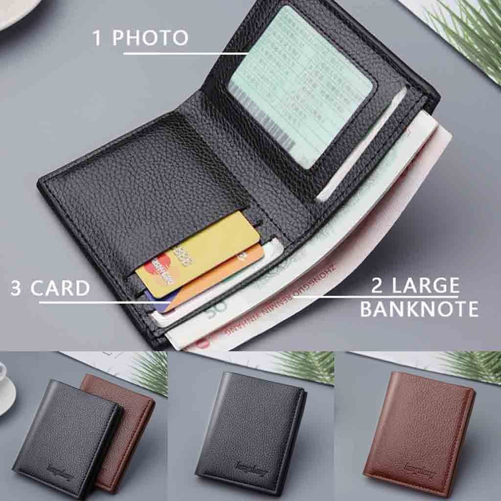 Winter 2020 Men's Wallet Short Vertical Ultra-Thin Wallet Bank Card Card Package Small Purse Dropshipping Ins Style Net Red P