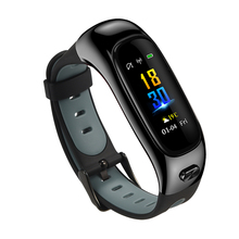 New S1 Smart Bracelet and Earphones Bluetooth Call Watch Sports Wristband Waterproof IP68 Swimming