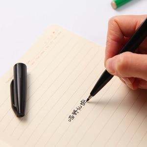 Image 5 - Японская ручка маркер S520 с гибким наконечником, различные цвета упаковка 12