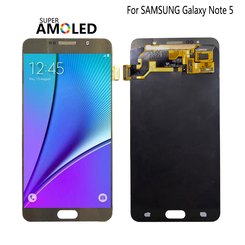 AMOLED For SAMSUNG Galaxy Note 5 Display LCD Touch Screen Note5 N920A N9200 SM-N920 N920C Original