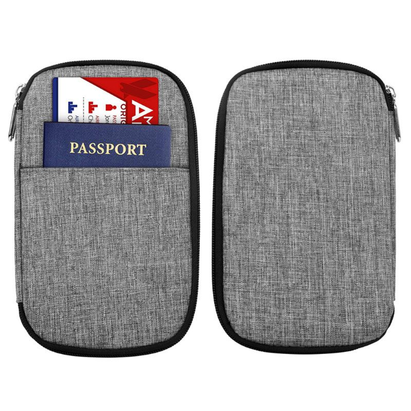 2019 Passport Holder Travel ID Credit Card Case Protector Organizer Cover