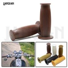Винтажные мотоциклетные ручки для sportster iron 883 1200 triumph