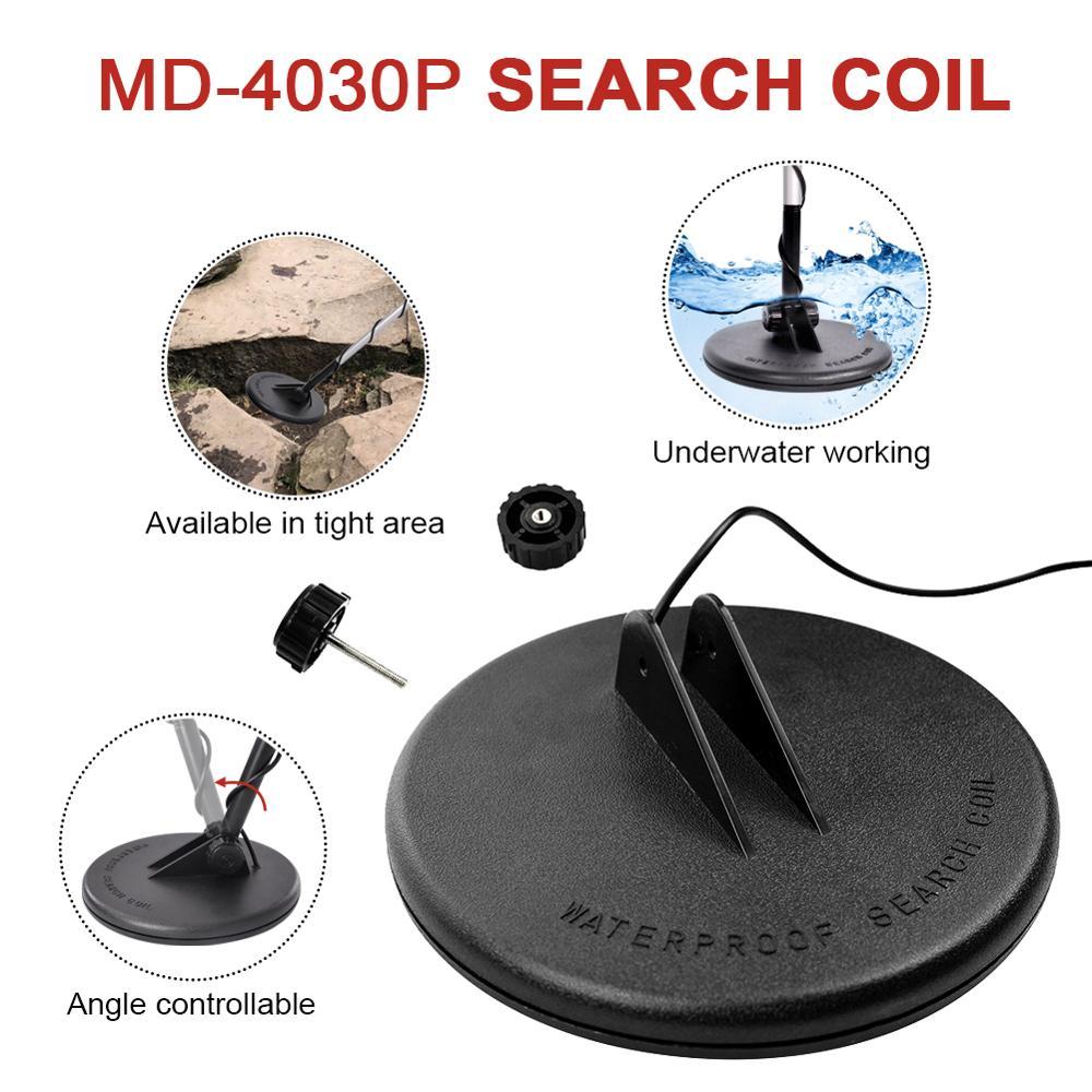 Bobina de Pesquisa Subterrânea Procurando Professionele Portátil Nugget Finder Diepte 1-1.5 m Ouro Prata Detector Tesouro Md-4030p