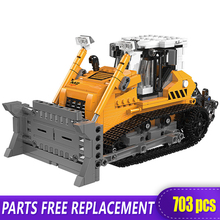 The Offroad Technic XingBao New 03039 Construction Bulldozer Vehicle Set Building Blocks bricks Toys boys Funny Christmas Gifts