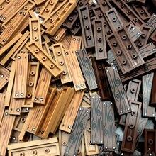 Piso da cidade impresso telhas blocos de construção peças moc tijolos de madeira casa acessórios compatíveis crianças diy brinquedos bloques 1*4 pontos