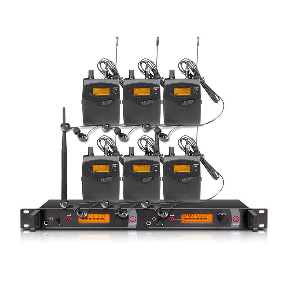 Orban Bühne Leistung und Sound Broadcast EM2050 Professionelle Drahtlose In-Ear-Monitor-System 6 Sender Wiederherstellung Echten Sound