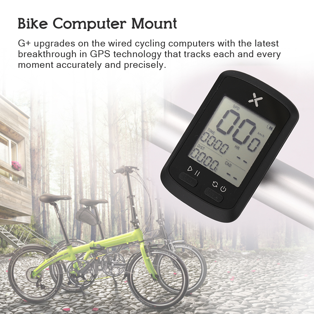 Bike Computer G+ Wireless GPS Speedometer Waterproof Road Bike MTB Bicycles Backlight Bt ANT+ With Cadence Cycling Computers|Bicycle Computer| |  - title=