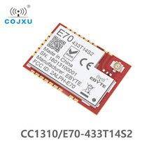 CC1310 433 MHz IOT SMD ebyte E70 433T14S2 rf אלחוטי uhf מודול משדר ומקלט 433 MHz RF מודול UART