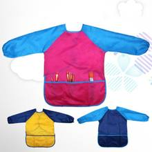 Детский фартук для раннего обучения рисования защита от загрязнений