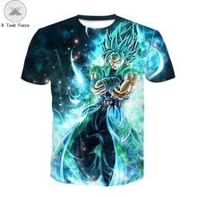 Summer new Japanese anime boy T-shirt 3D print T-shirt boys shirt T-shirt boys and girls casual short sleeve Children's clothes