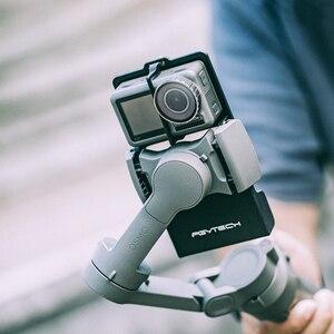 Image 3 - PGYTECH Caméra DACTION Adaptateur + pour Mobile Cardan pour Gopro Hero7 6 5 Osmo Daction DJI osmo Mobile 3 planche rabotée 4 Caméra Accessoires