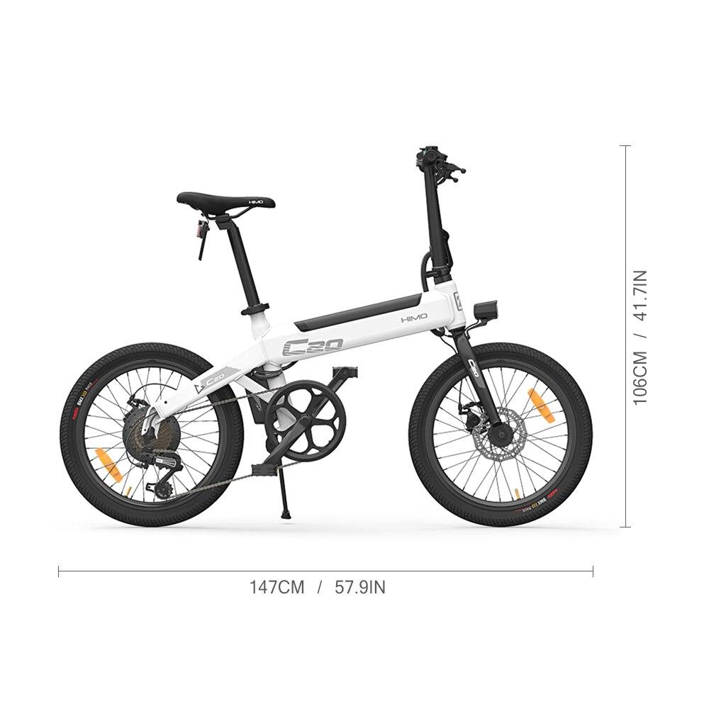 25 км/ч для е байка складной Мощность Электрический велосипед мопед, фара для электровелосипеда в 80 км пройденное расстояние в милях на откры... - 2