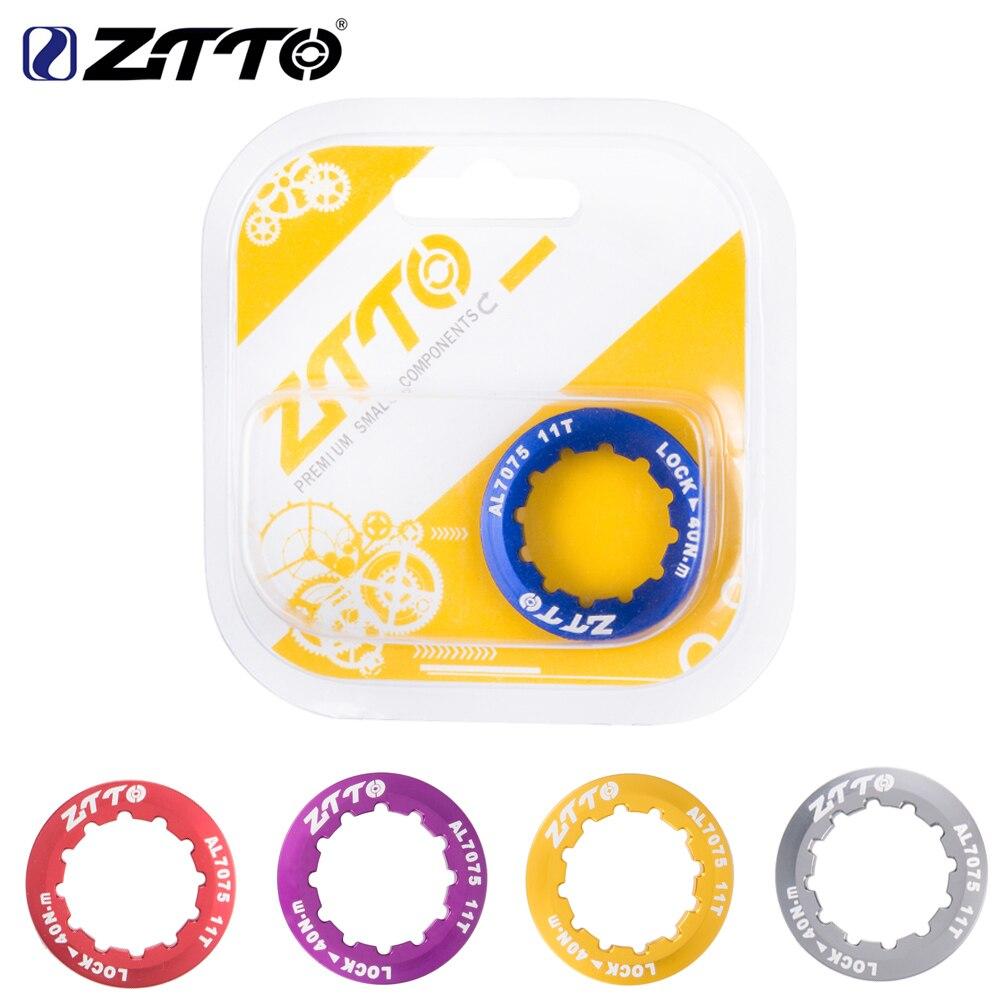 Ztto mtb bicicleta de estrada cassete capa bloqueio anel 11 t al7075 tampa ultraleve para ztto shimano sram 9 s 10 s 11 s 12 s velocidade roda livre