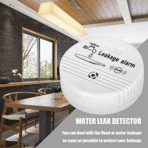 Image 3 - 4 stücke Wasser Leckage Sensor 85dB Wasserstand Alarm Batterie Powered Wasser Sicherheit System