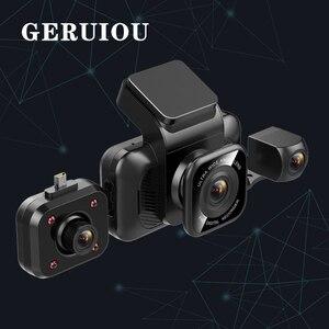 Image 1 - オリジナルAiba A12 1296P HDダッシュカムビルトインWIFI 170ワイドカーカメラwith WDRナイトビジョンカーDVR 24Hパーキングモニターダッシュカム ドライブレコーダー