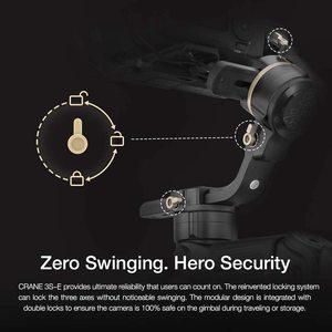 Image 3 - Zhiyun Crane 3S/Se 3 Axis Gimbal Handheld Stabilizer Ondersteuning 6.5Kg Dslr Camera Camcorder Video Camera S voor Nikon Canon