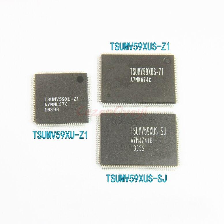 1pcs/lot TSUMV59XUS-Z1 TSUMV59XUS TSUMV59 TSUMV59XU-Z1 TSUMV59XUT-Z1 TSUMV59XE-Z1 TSUMV59XES-Z1 TSUMV59XES QFP-128