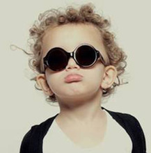 2019 Retro Classic Children Sunglasses Girls Boys Round Frame Coating Mirror Colorful Eyewear