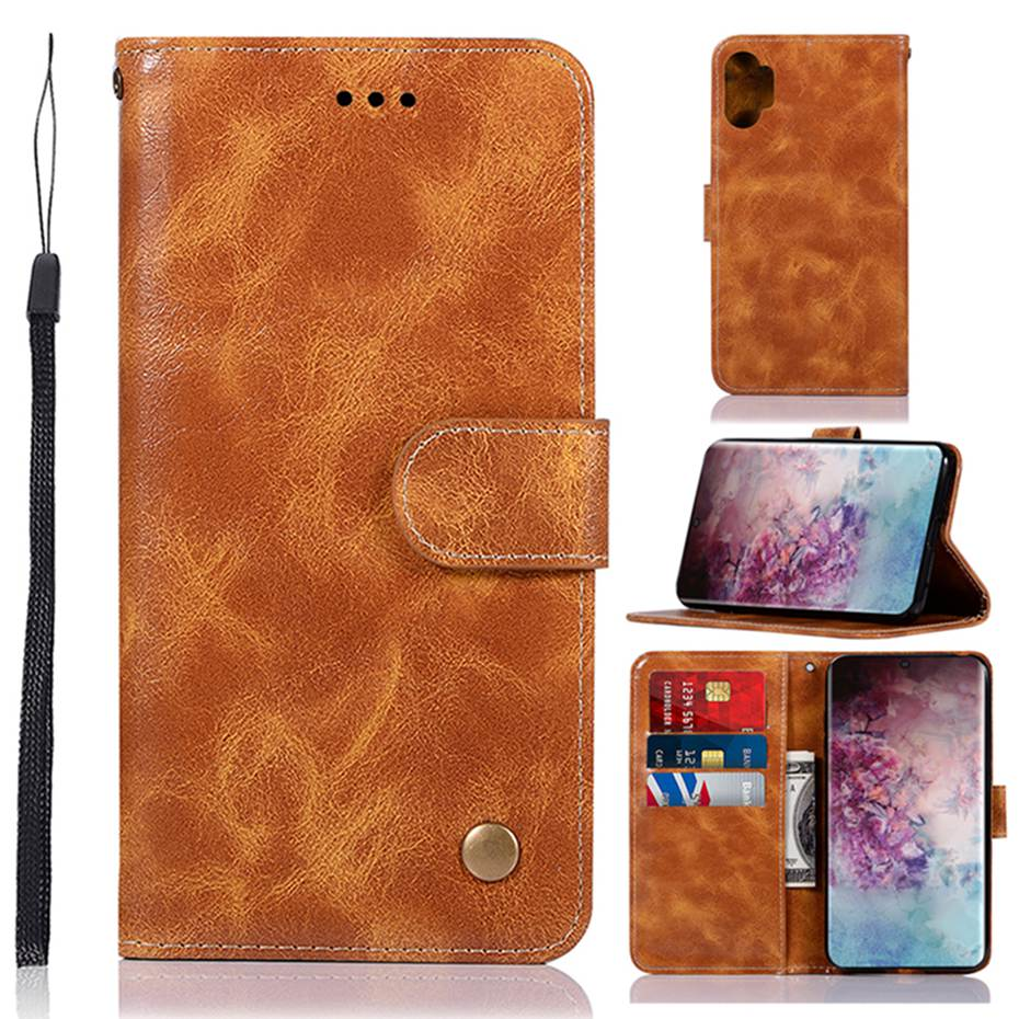 Note 10 Wallet Case For Samsung Galaxy Note 10 Pro PU Leather Back Cover Phone Case For Samsung Galxy Note 10 Pro Cover