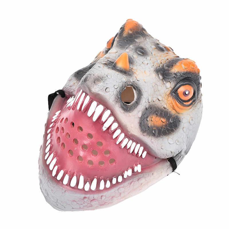 2019 Hot Sale Baru Halloween Dewasa Topeng Menakutkan Takut Masquerade Dinosaurus Hewan Masker Wajah Lucu Kostum Cosplay Dropshipping C