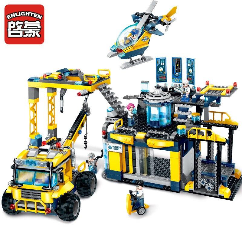 Ensemble de blocs de construction pour Experts miniers de Base d'exploration Alpha