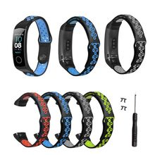 Two-Color Silicone Breathable Sport Wrist Strap Watch Band for Huawei Honor 5/4 Smart Bracelet Accessories
