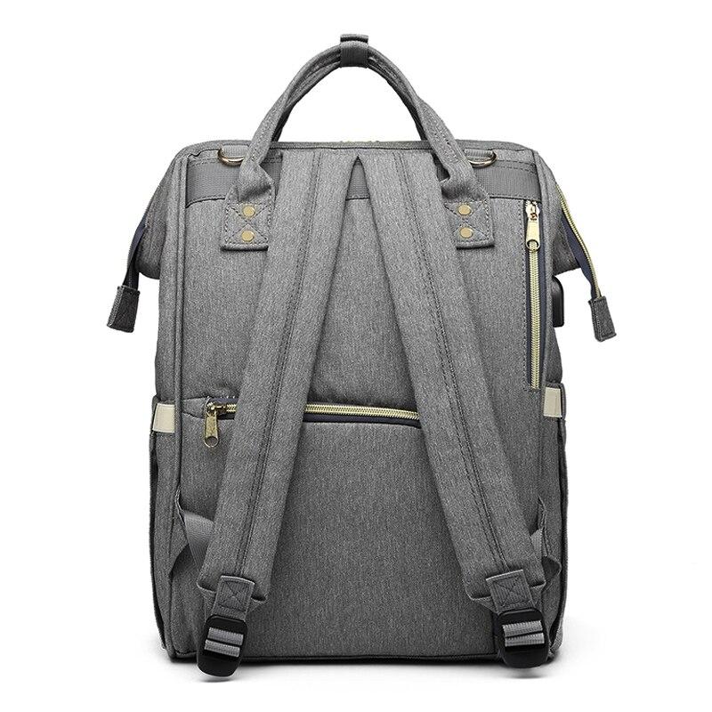 Mommy Diaper Bag Large Capacity Designer Nursing Bag Baby Nappy Bag Baby Care Bag for Mother Kid Fashion Travel Backpack