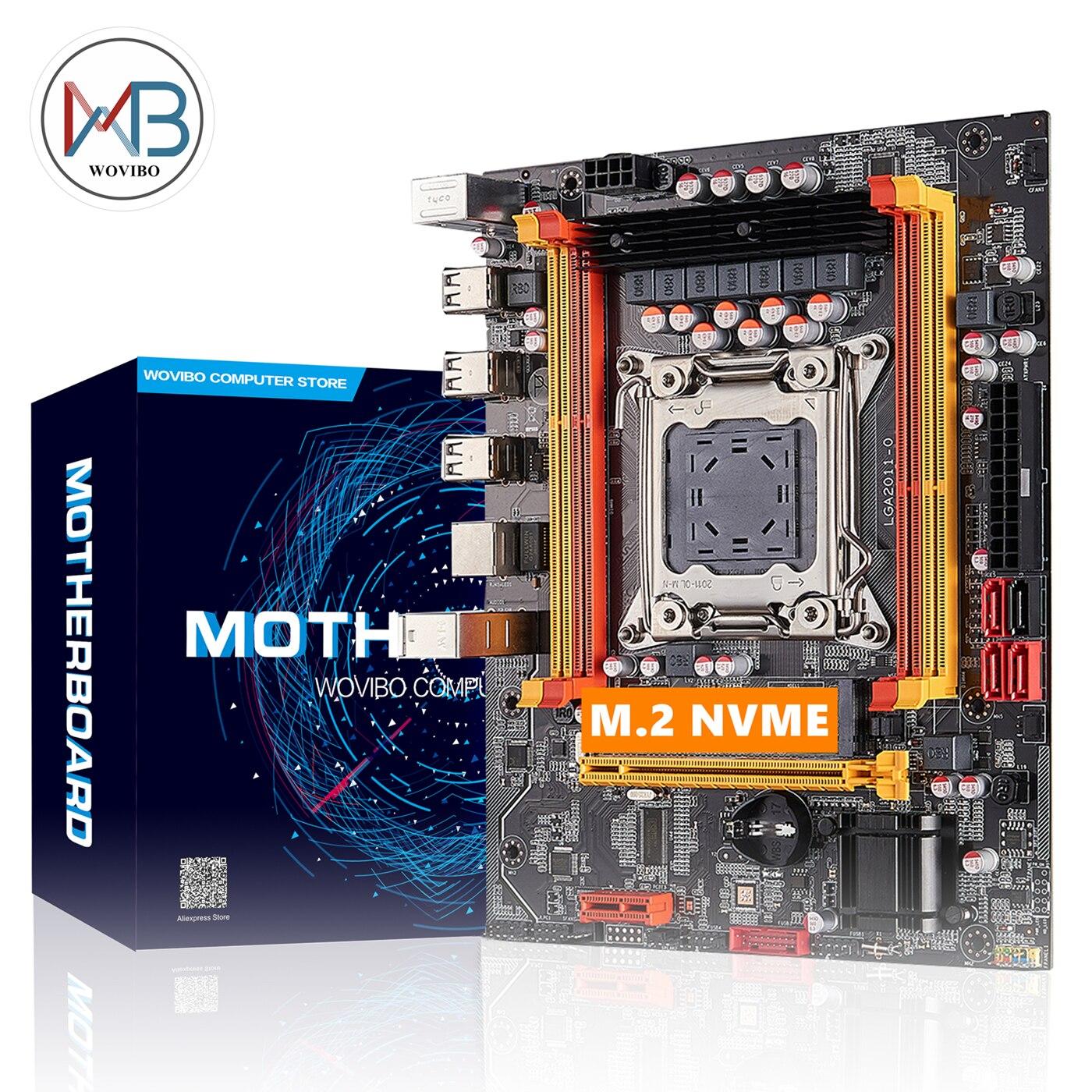 Motherboard LGA 2011 Soquete X79 X79 Chip DDR3 NVME M.2 ECC REG Memória SATA III PCI-E Para Intel LGA2011 I7 e5 Xeon CPU