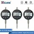 XCAN Digital Micrometer 0-12.7mm/0-25.4mm 0.001mm 0.00005