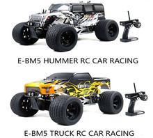 1/5 ROFUN E-BM5 Bigfoot Monster Hummer and Truck 2WD Model Road Racing Radio Controlled RC Car Toy for ROVAN Big Monster(China)