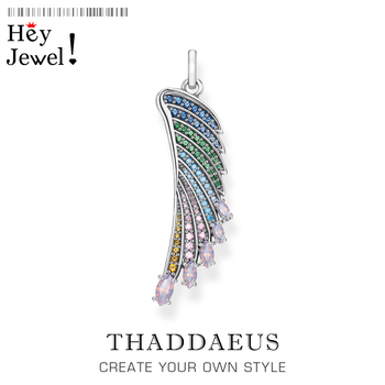 Pendant Hummingbird Wing 2020 New Arrival Fashion Jewelry Europe Bijoux Bohemia 925 Sterling Silver Rainbow Effect Woman Gift